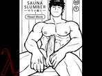 The sex pic of Sauna Slumber at the gay sex games